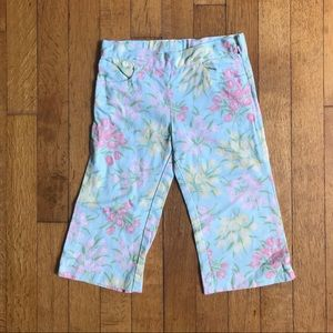 Janie and Jack floral capris